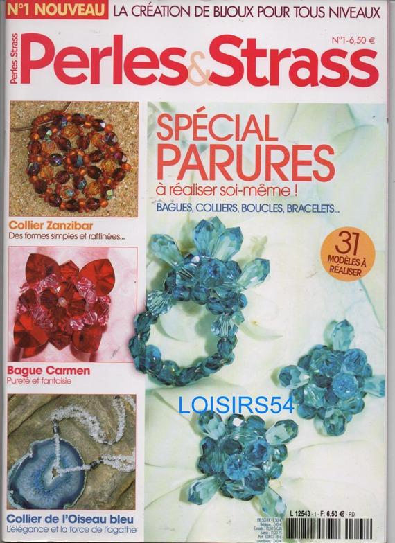 Livre Perles et Strass Spécial Parures