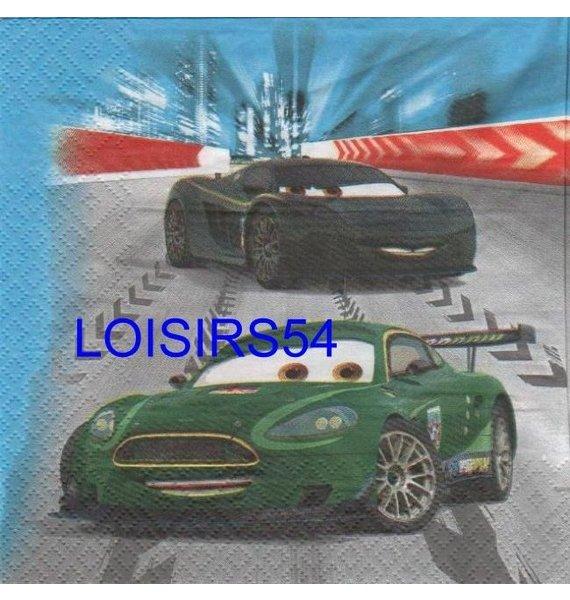 Serviette papier Car 2 Le film