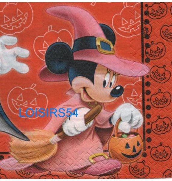 Serviette papier Mickey sorcier - 33 cm x 33 cm