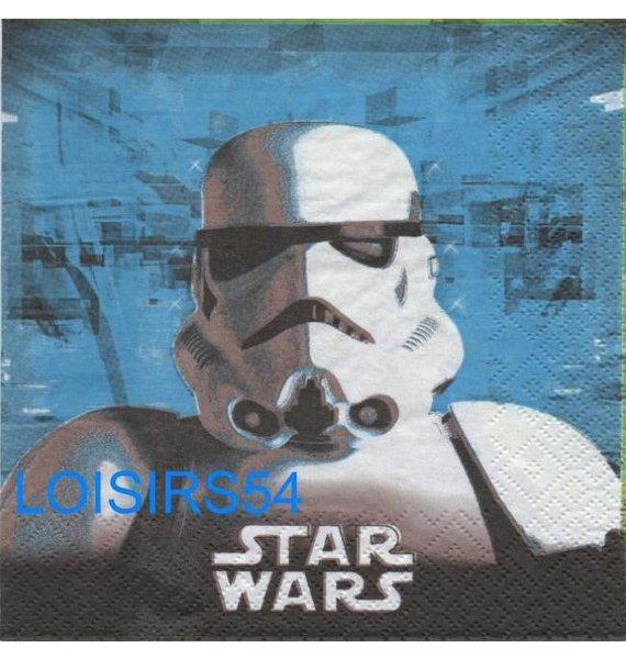 Serviette papier Star Wars le film 33 cm x 33 cm pour décoration