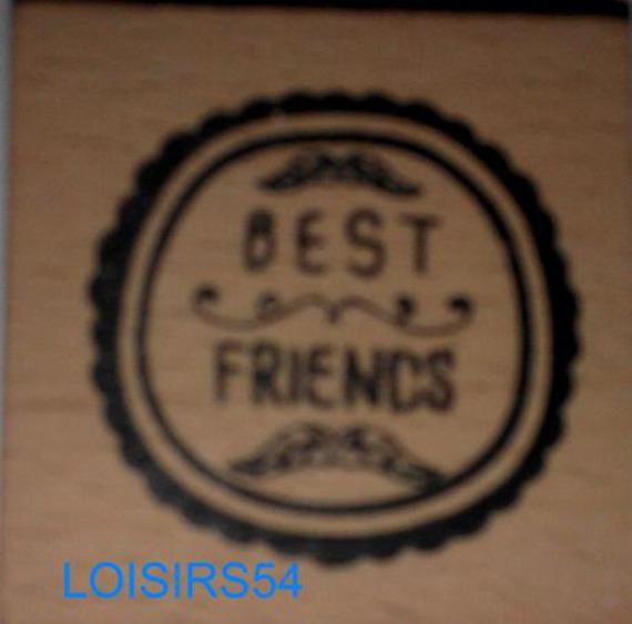 Tampon bois Best ami 4 cm x 4 cm