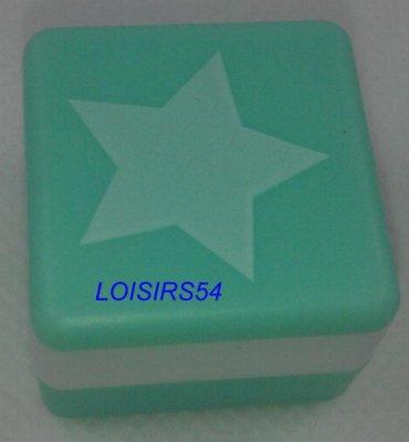 Tampon mousse vert étoile 2,5 mm x 2,5 mm