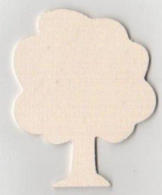 Arbre bois 80 mm à peindre