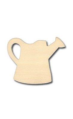 Support bois Arrosoir en bois 9 cm