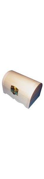 Bois brut Boîte à bijoux en bois 100 mm
