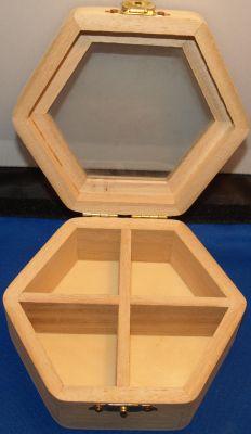 Boîte à bijoux en bois 115 mm