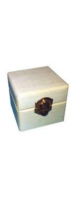 Bois brut Boîte à bijoux en bois 60 mm