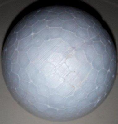 Boule polystyrène 6 cm
