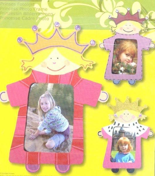 Cadre MDF Princesse 28 cm x 20 cm