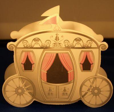 Carton carrosse carton pour drag es 10 cm - Fourniture loisirs creatifs ...