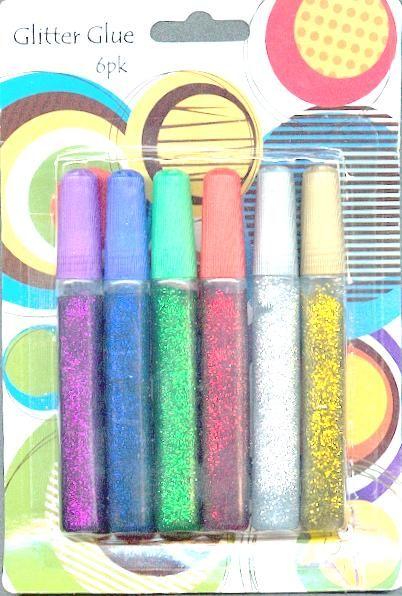 Colle à paillettes 6 x 10 g Glitter Glue