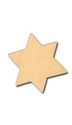 Support bois Étoile en bois 70 mm