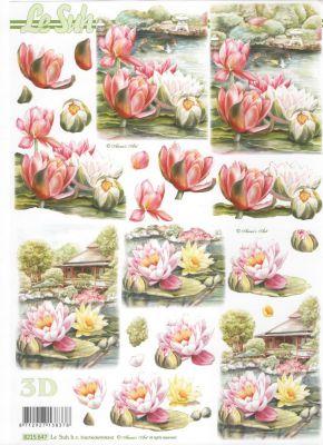 Feuille 3d fleurs feuilles 3d d couper n nuphar - Fourniture loisirs creatifs ...