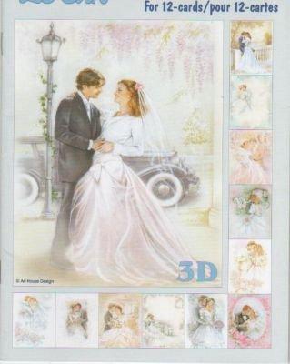 Feuilles à découper 3D Mariage