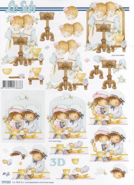 Feuille 3d feuilles d couper 3d 2 petites soeurs - Fourniture loisirs creatifs ...