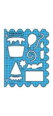 Gabarit de forme ShapeTemplate Fiskars anniversaire