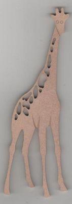 Girafe MDF 180 mm x 60 mm