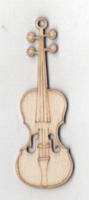 Guitare bois 70 mm x 25 mm