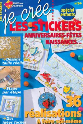 livres livre je cr e les stickers sp cial enfants. Black Bedroom Furniture Sets. Home Design Ideas