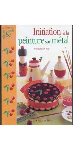 Livre Initiation à la peinture sur métal