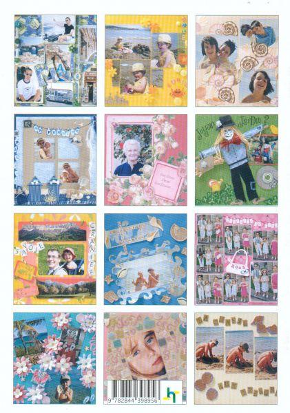 Livre magic loisir scrapbooking souvenirs de vacances - Fournitures loisirs creatifs ...
