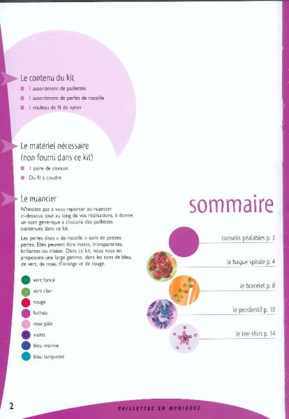 Livre paillettes en myriade - Fournitures loisirs creatifs ...