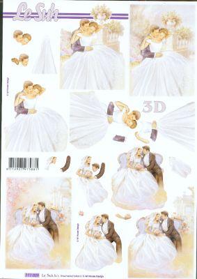 Feuilles 3D Mariage