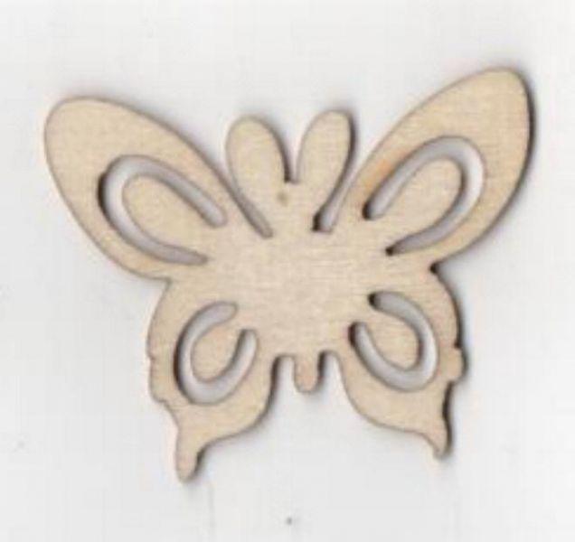 Papillon bois 35 mm x 55 mm