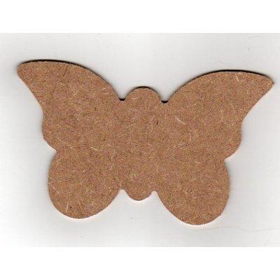 Papillon MDF à peindre 12 cm x 8 cm