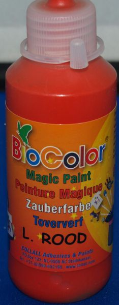 Peinture Biocolor 100 ml rouge