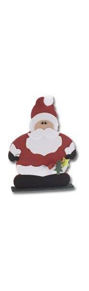 Père Noël en mousse à monter soi même