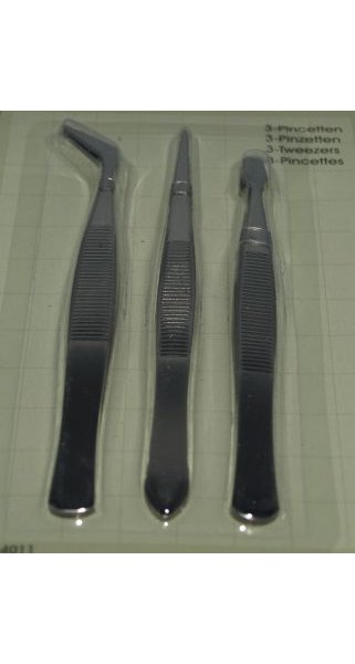 Pince plates lot de 3 long 120 mm