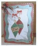 Plaque embossage motif Noël