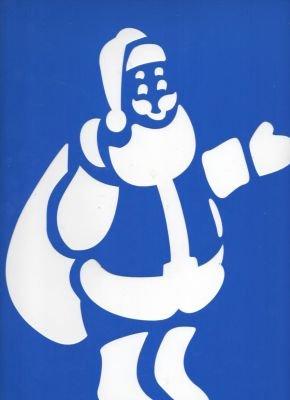Pochoir Père Noël 35 cm x 25 cm pour décoration