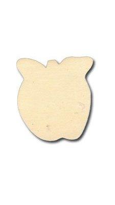Support bois Pomme en bois 9 cm