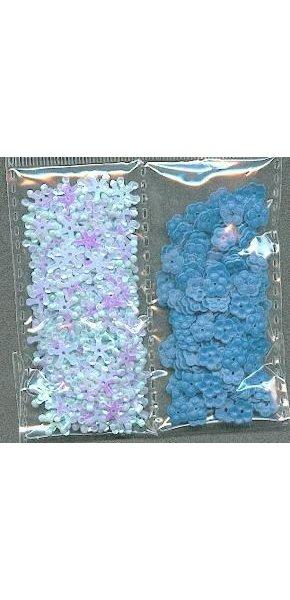 Sequins bleu sachet de 30 g