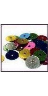 Sequins coloris assorties sachet de 30 g