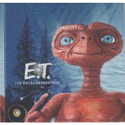 Serviette papier E. T. 33 cm X 33 cm 2 plis