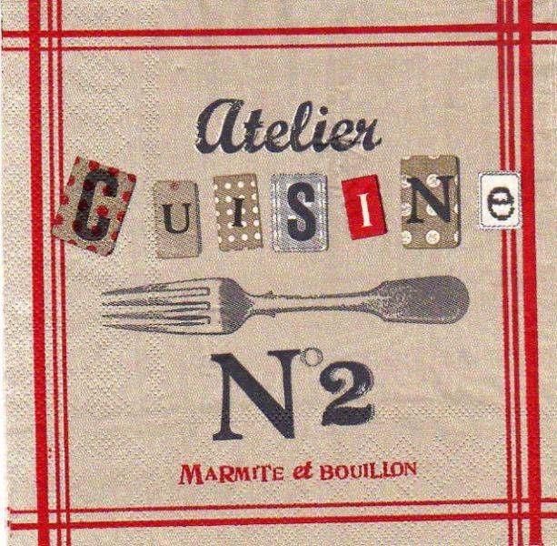 Serviette papier motifs divers serviette papier atelier - Fourniture loisirs creatifs ...