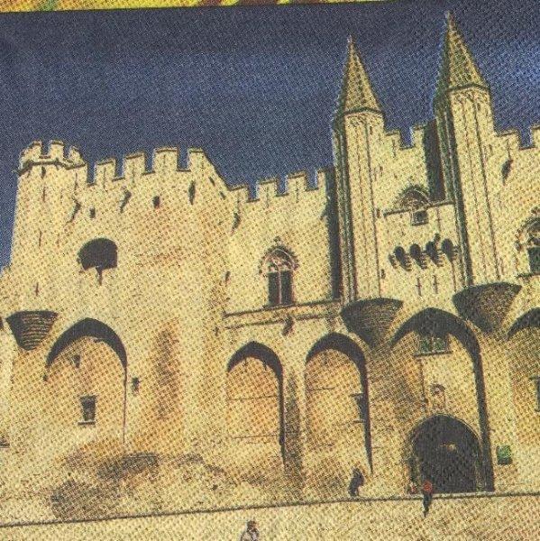 Serviette papier Avignon  33 cm X 33 cm 3 plis