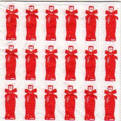 Serviette papier bouteille Coca Cola 25 cm x 25 cm