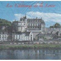 Serviette papier Château de la Loire 33 cm X 33 cm 2 plis