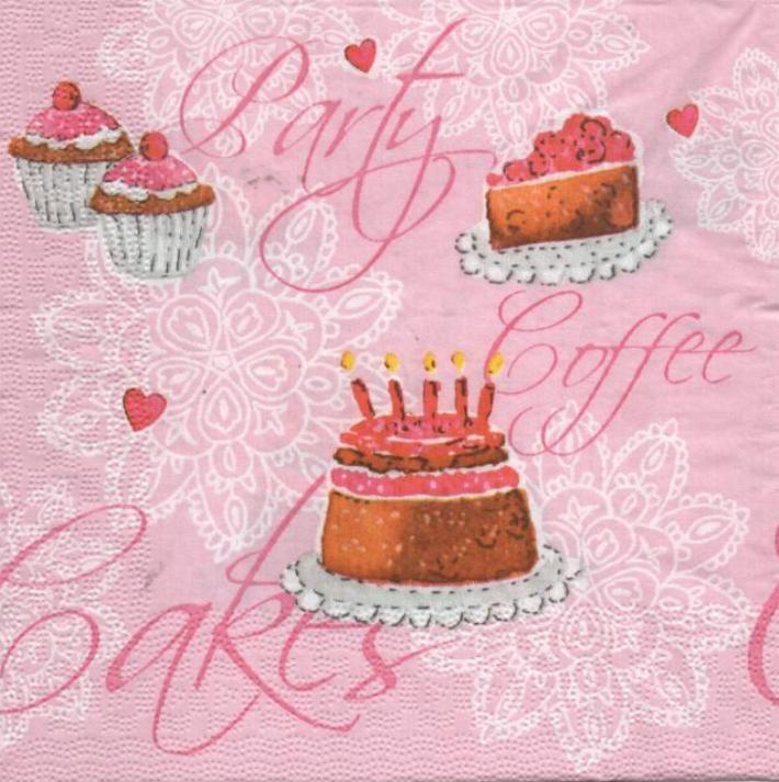 Serviette papier motifs divers serviette papier cupcakes - Fourniture loisirs creatifs ...