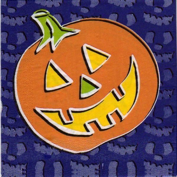 Serviette papier Décoration Halloween 33 cm X 33 cm