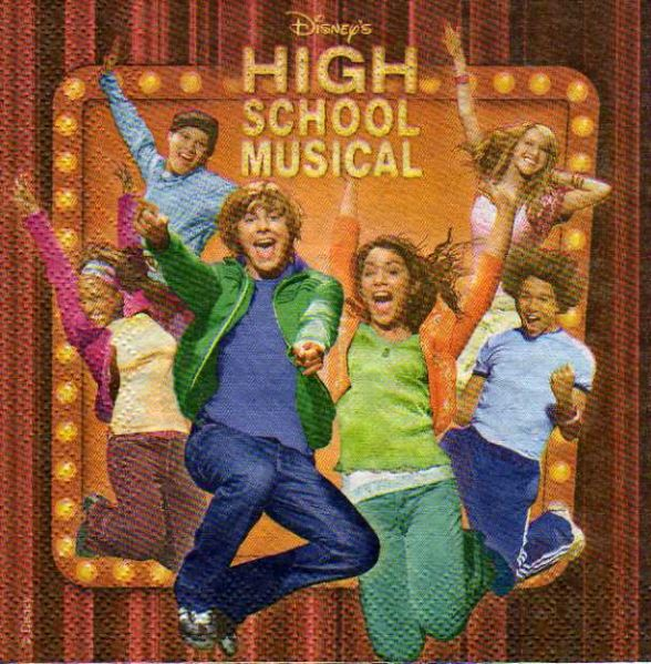 Serviette papier High School Musical
