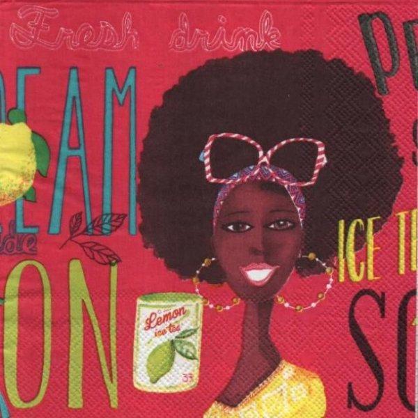 Serviette papier Ice Tea 33 cm X 33 cm 3 plis