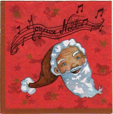 Serviette papier jouets de Noël 33 cm X 33 cm 3 plis