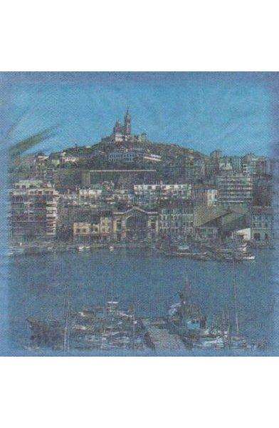 Serviette papier Marseille 33 cm X 33 cm 2 plis