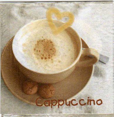 Serviette papier cappuccino de 33 cm X 33 cm 3 plis