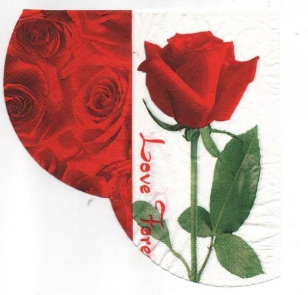 Serviette papier rose 33 cm X 33 cm 2 plis